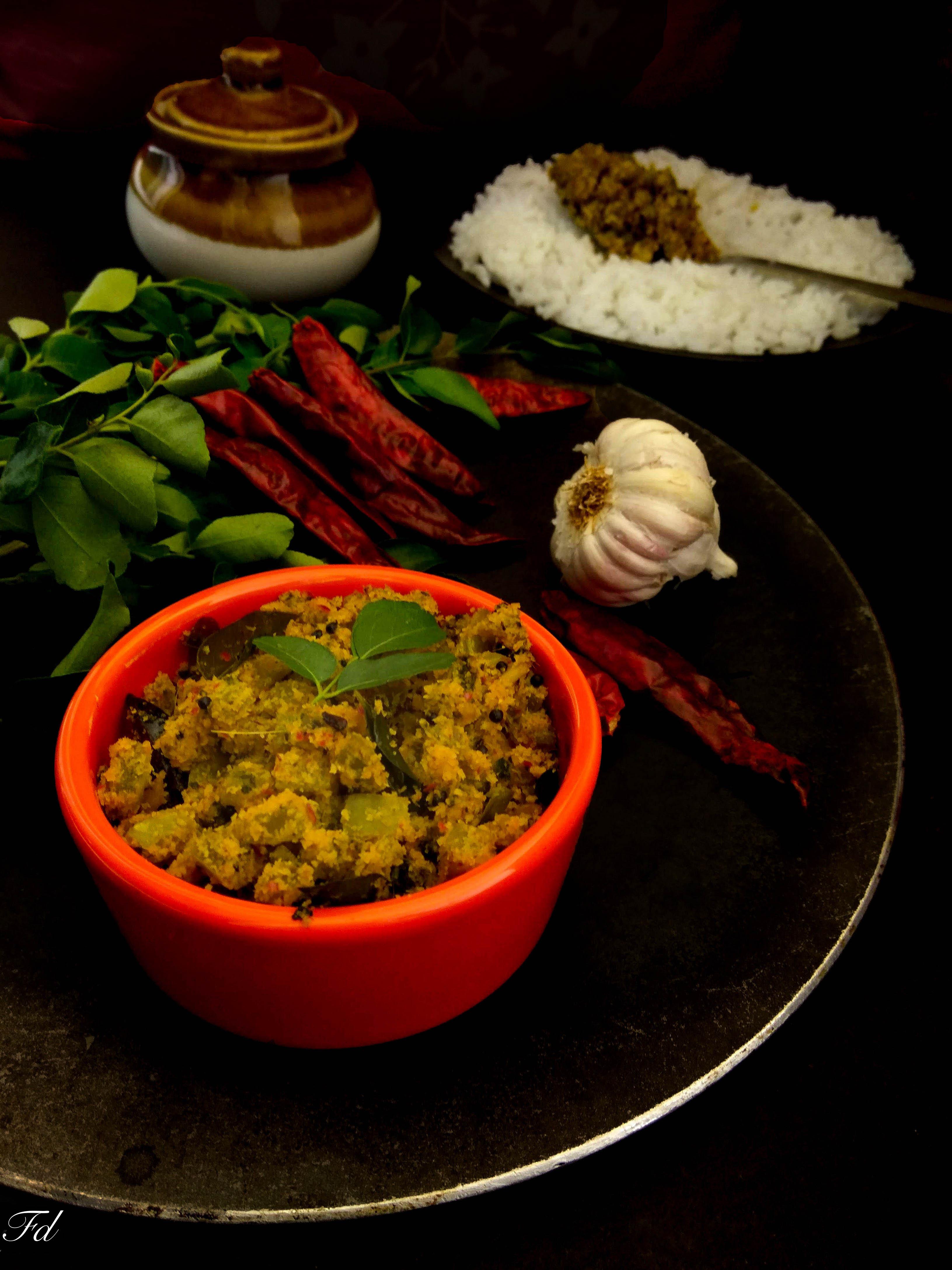 Padavalanga Thoran Recipe/ Snake gourd Stirfry