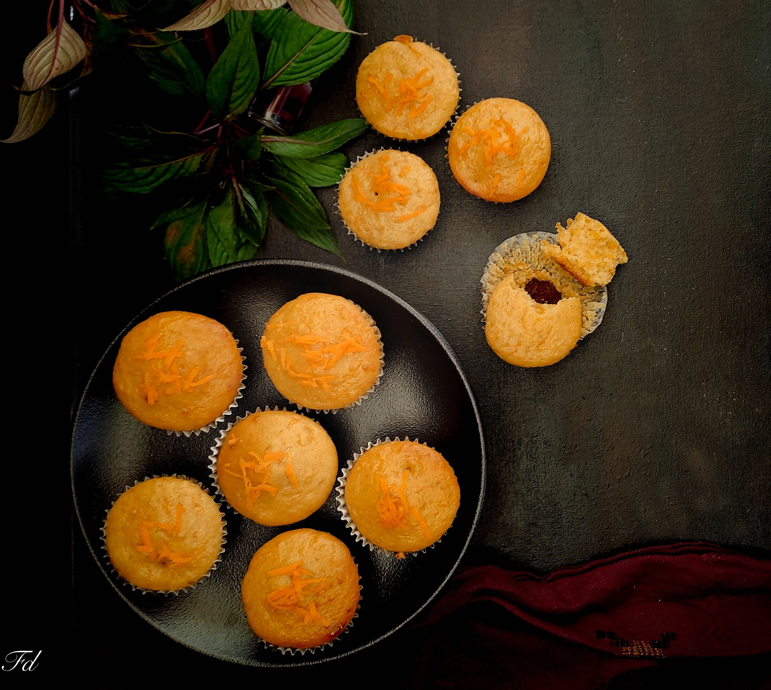 Wholewheat Carrot Cupcakes